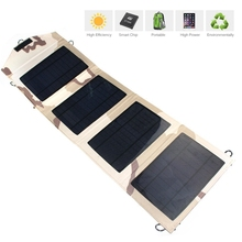 New Portable Foldable solar charger 14W dual USB for Samsung Xiaomi etc. Mobile Phone Solar charger camping travel outdoor using
