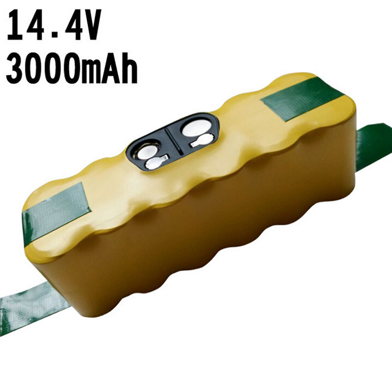 Replacement 3000mAh NI-MH Battery for iRobot Roomba 500 510 530 550 560 570 580 600 610 620 630 650 700 780 770 760 790 870 880(China (Mainland))