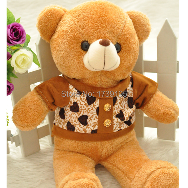 High Quality super cute Valentines Teddy Bear Gift Scarf teddy Bear valentine animals Plush Toys birthday gifts for girlfriend(China (Mainland))