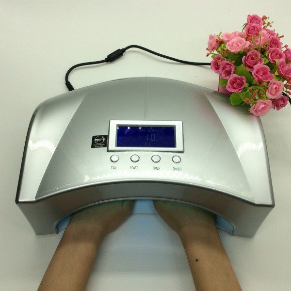 Free Shipping 66W High Power Nail Lamp for Both Hands and Feet UV Manicure and Pedicure Nail Dryer Station(China (Mainland))