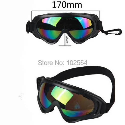 60pcs/lot free shipping X400 UV Protection Outdoor Sports Snowboard Skate ski goggles P075(China (Mainland))