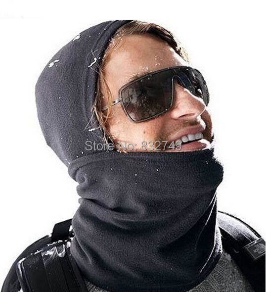 2 pcs/lot Motorcycle Bicycle Scarf Full Face Mask Neck Warmers CS Hat Winter Skiing Ear Warm(China (Mainland))