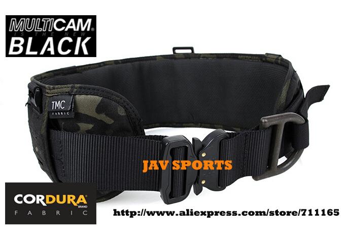 TMC Laser-Cut PALS Padded Belt Rigger Belt Multicam Black Tactical MOLLE Belt+Free shipping(SKU12050590)<br><br>Aliexpress