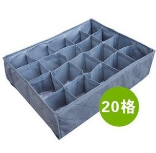 Free shipping!Bamboo storage box /storage container /storage Organizer for bag 20 Socks,underwear   DX1809