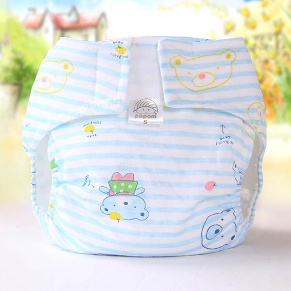 Kids Baby Infant Reusable Nappy Covers Inserts Soft Cloth Diapers Covers Washable<br><br>Aliexpress