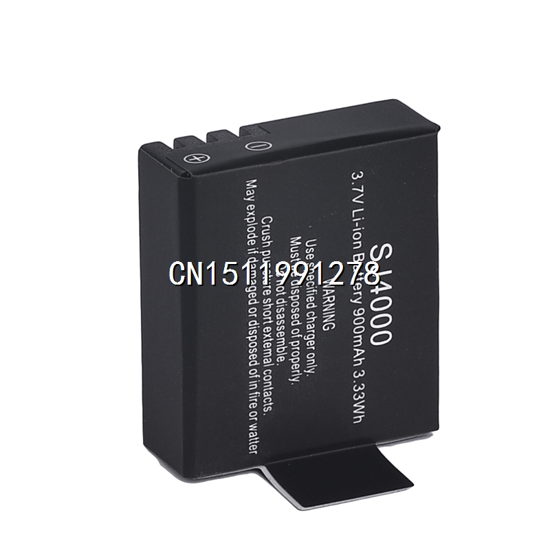 Аккумулятор для фотокамеры Other 3.7V 900mAh li/SJ4000 SJ 4000 + USB SJ4000 SJ5000 SJ6000 for SJ4000 аккумулятор nobby slim 025 001 4000 mah usb 1 2а black 09282