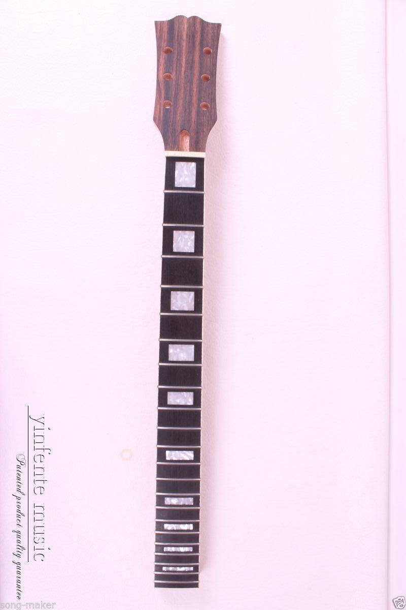 1 pcs Electric Guitar Neck Maple Ebony wood FretBoard 22 Fret 24.75inch(China (Mainland))