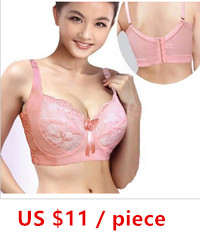 Thin plus size big bra large cup mm vest design underwear comfortable shoulder strap bra d cup