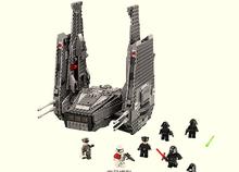 Whole Sale Price LEPIN#05006  Star Wars 7 Kylo Ren Command Shuttle Figure toys building blocks set marvel minifigures