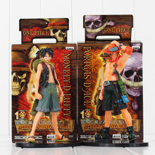 Buy 2016 New Japan Anime One Piece Monkey.D.Luffy Portagas D Ace PVC Action Figure Set Toy Gifts Kids for $8.63 in AliExpress store