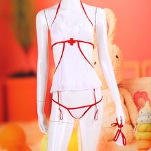 women sexy lingerie cosplay sexy nurse halter costume erotic lingerie lace sexy underwear pole dance font