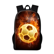 Buy Cool School Backpacks Boys Ball Printed Back Pack Fashion Lightweight Bookbags Teenagers Schoolbag Bagpack Children for $19.97 in AliExpress store