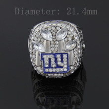 European and American popular jewelry 2011 New York Giants championship commemorative ring super wrist rings