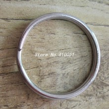 304 stainless steel ring opening curtain ring keychain key ring key chain accessories firmly ring eyelet(China (Mainland))