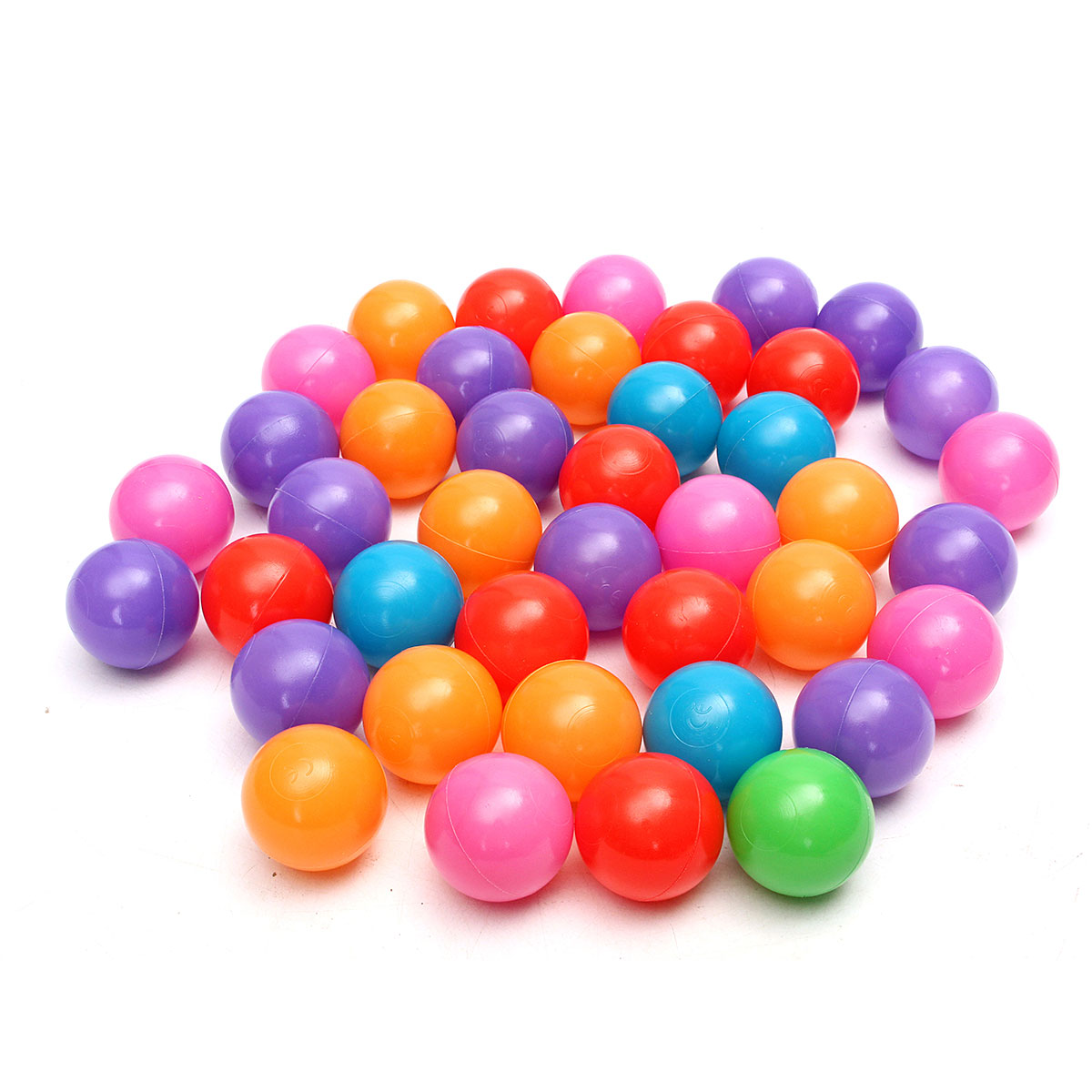 200pcs 4cm Colorful Ball Soft Plastic Ocean Ball Funny Baby Kid Swim Pit Toy Water Pool Ocean Wave Ball(China (Mainland))