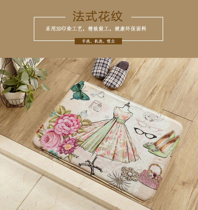 New Arrivals American Vintage Doormat Kitchen Rug Bath Mat Living Room  Carpet Bedroom Outdoor Welcome Carpet Home Hotel Decorate   Us334