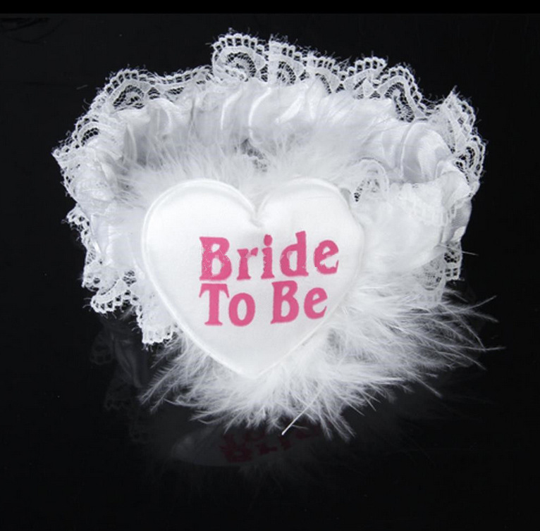 1pcs 3style Bride To Be Garter Hen Night Party Bachelorette Bridal Shower wedding party favor Bachelorette supplies(China (Mainland))