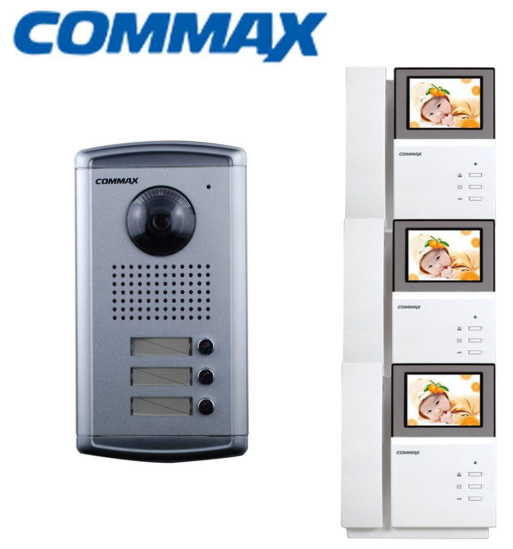 Commax 3ac Apartment Door Camera Intercom Panel Dpv 4pnc