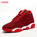 Winter Fashion High Top Casual Shoes For Men PU Leather Lace Up Red Mens High Top Trainers Warm Fur Plush Ankle Boots Superstar
