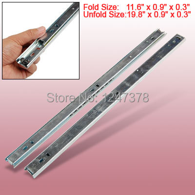 Sell Furniture Aluminium Ball Bearing Drawer Guides(China (Mainland))
