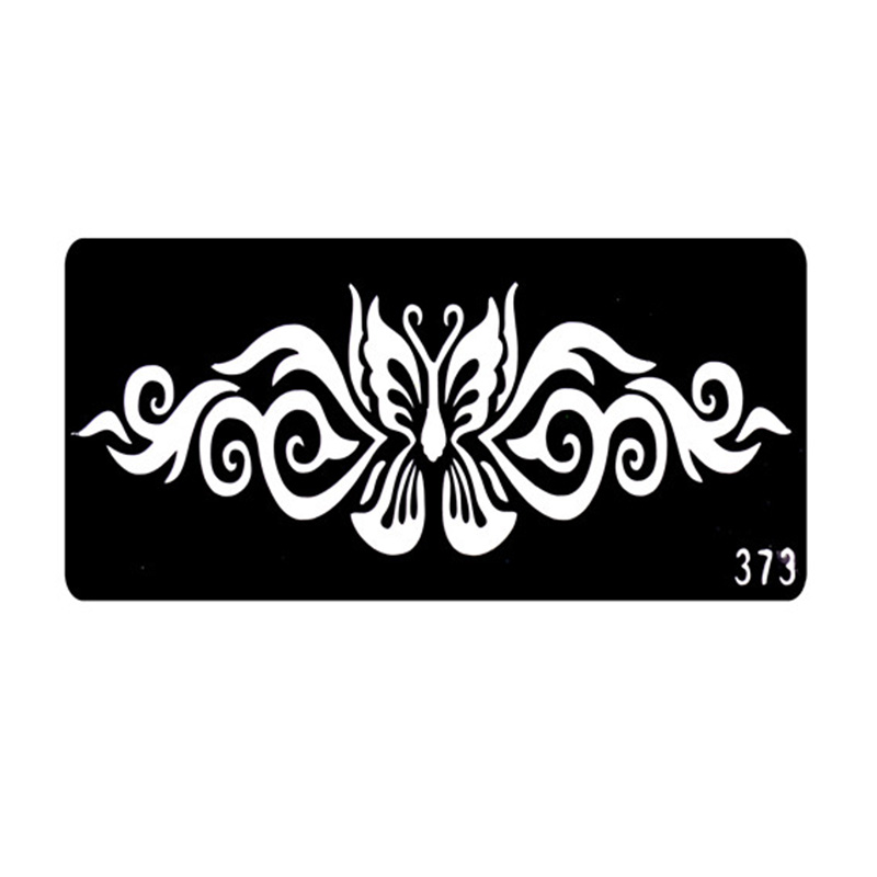 2016 Popular Henna Tattoo Stencils Airbrush Stencils Face Painting Stencils Plantillas Tatuajes T001-373 EE(China (Mainland))