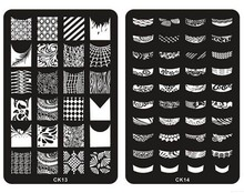 Wholesale Latest Nail Art Plate Image Stainless Steel Template Image decoration Stencil nail stamping 3000pcs/lot free shipping(China (Mainland))