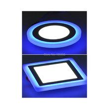 2015 Nouveau design maison décoration Bleu + Blanc led panneau downlight lampes(China (Mainland))