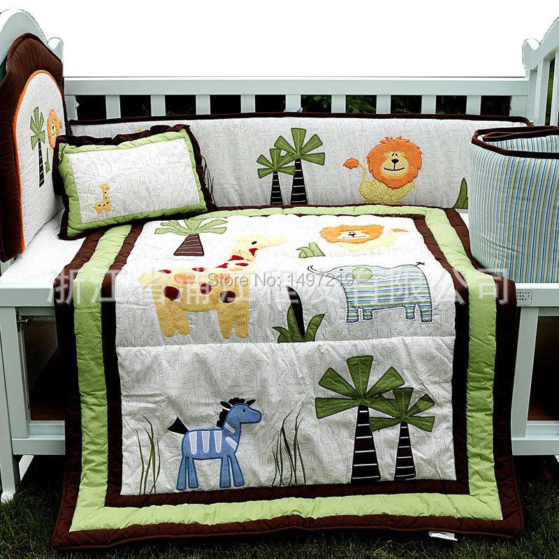 PH034 crib child bedding set  (5)