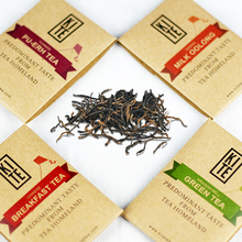 Chinese Breakfast Tea 16 Pieces Whole Leaves Black Tea in Pyramid Tea Bags 1 Gift Box
