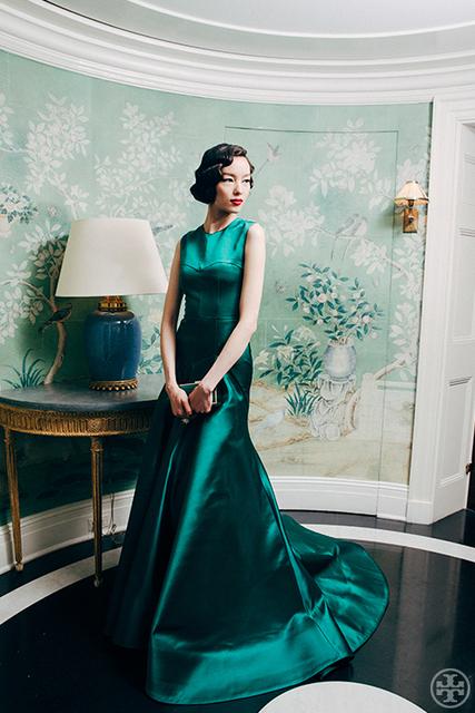 Жилетido noiva зеленый без рукавов вечерние платья для женщины длинная поезд официальный ...