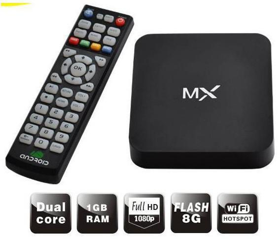 ANDROID 4.2 Google TV BOX Network TV set - top box WIFI dual - core 8726MX network player(China (Mainland))