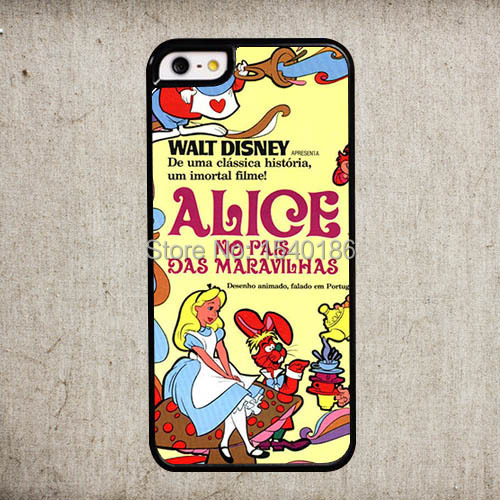 2015 Alice Wonderland Hard Cover iphone 5 5s cases Phone Shell - Tesco assemble DIY store