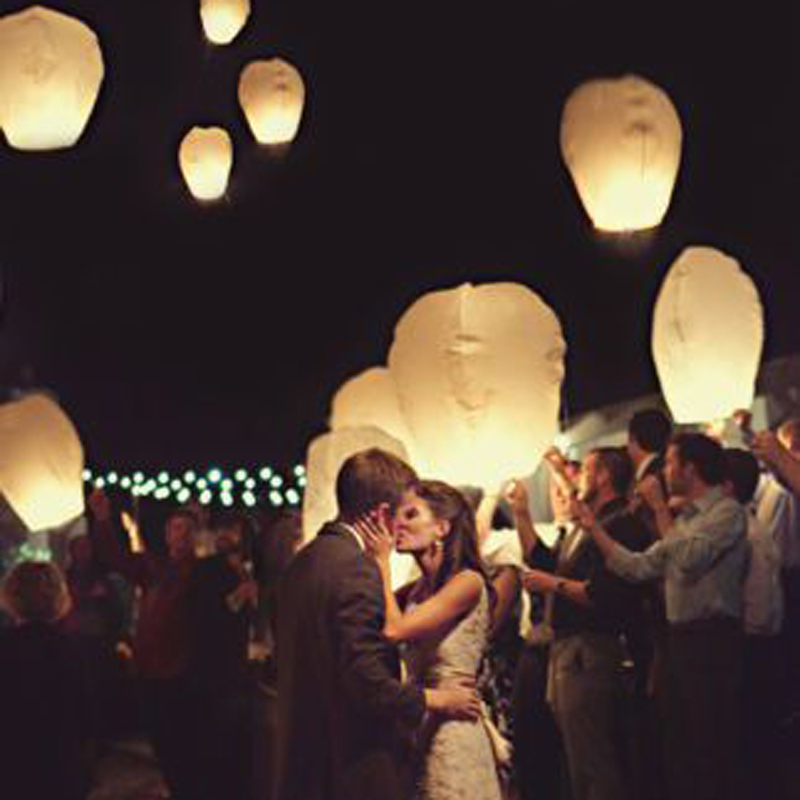 wedding decoration 5pcs/lot Chinese kongming lanterns,Christmas SKY Balloon wishing Lanterns Flying Light Halloween Lights(China (Mainland))