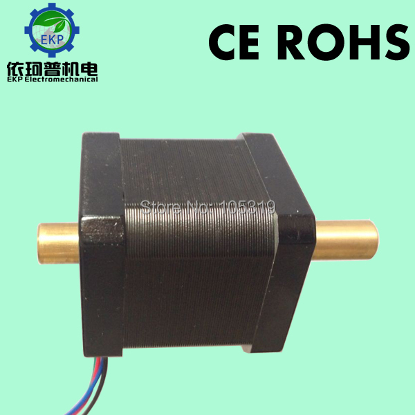 nema 17 Hollow Shaft Hybrid Stepping Motor, 4-Wire,1.8 Degrees, 42MM Stepper Motor, 0.48N.m,48 mm long,Used for SMT machine(China (Mainland))
