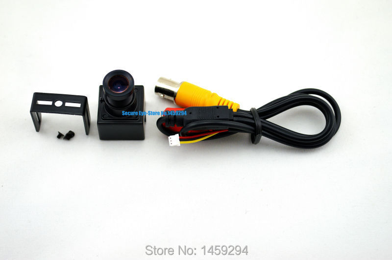 "Mini Ccd Camera Size 20*20mm 1/3"" Sony CCD,420TVL 3.6mm Board Lesn Miniature Color Mini Fpv Camera Factory Price Free Shipping(China (Mainland))"