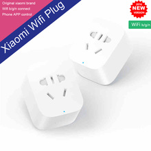 New 100% Original In Stock Xiaomi Smart Plug WiFi Phone Wireless Remote Control Xiaomi Smart Socket With EU/AU/UK/US Adapter(China (Mainland))