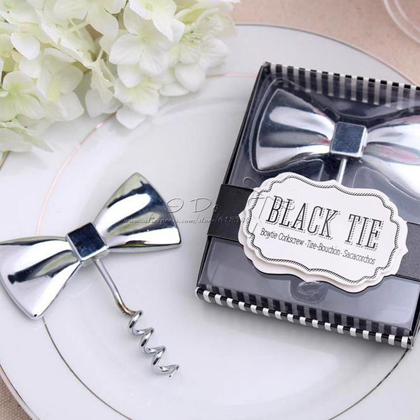 buy free shipping bow wine opener bottle opener wedding favors and gifts. Black Bedroom Furniture Sets. Home Design Ideas