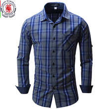 Buy 2017 New Arrival Men's shirt Long Sleeve Plaid Shirts Mens Dress Shirt Brand Casual Denim Style Checks Shirts 102 for $13.99 in AliExpress store