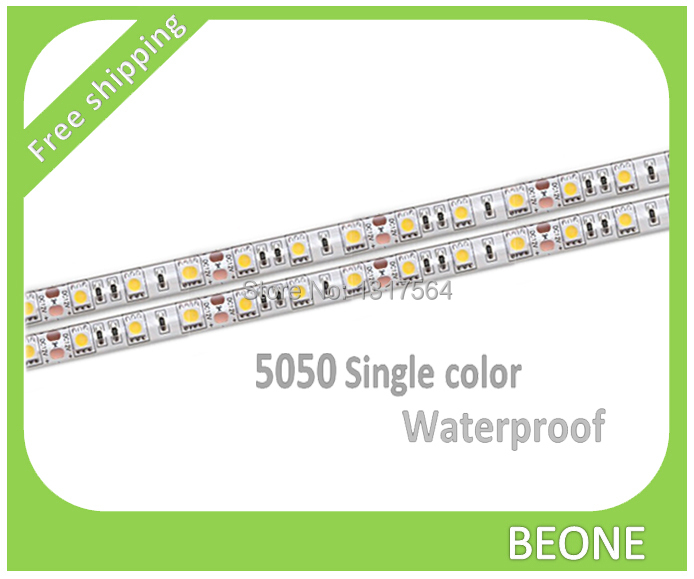 5050 3528 led tape Free shipping LED strip 12V waterproof Flexible Cultable 5M home decor(China (Mainland))