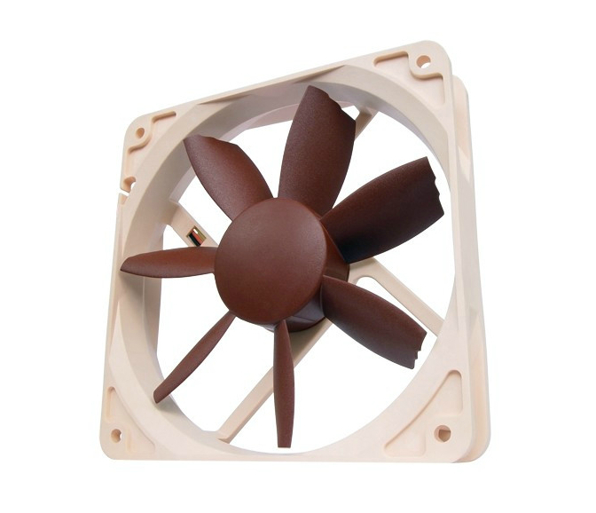 European High-end Brand Fan! Free Shipping NF-S12B-FLX Large Volume Ultra Quiet 12CM 12V Graphics CPU Case Computer Fan<br><br>Aliexpress