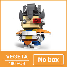 Dragon Ball Son goku Bulma Super Saiya Vegeta Action Figure Estatueta Toy Blocos Compatíveis com Legoing Namorado Presente Para A Menina(China)