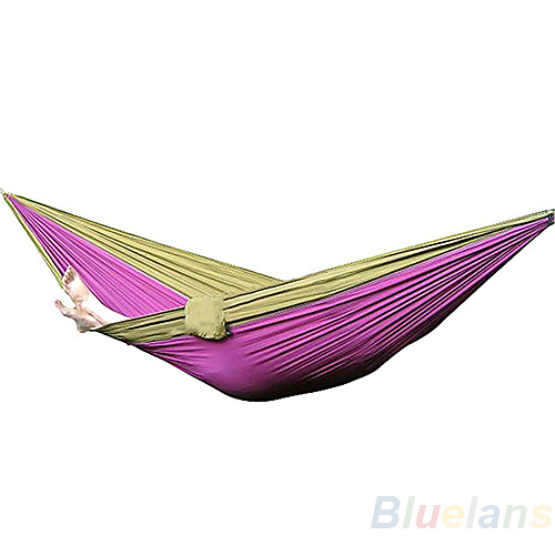 Гаджет  New Parachute Nylon Fabric Hammock Travel Camping For Double Two Persons Hanging Bed Outdoor Leisure 270 x 140CM None Мебель