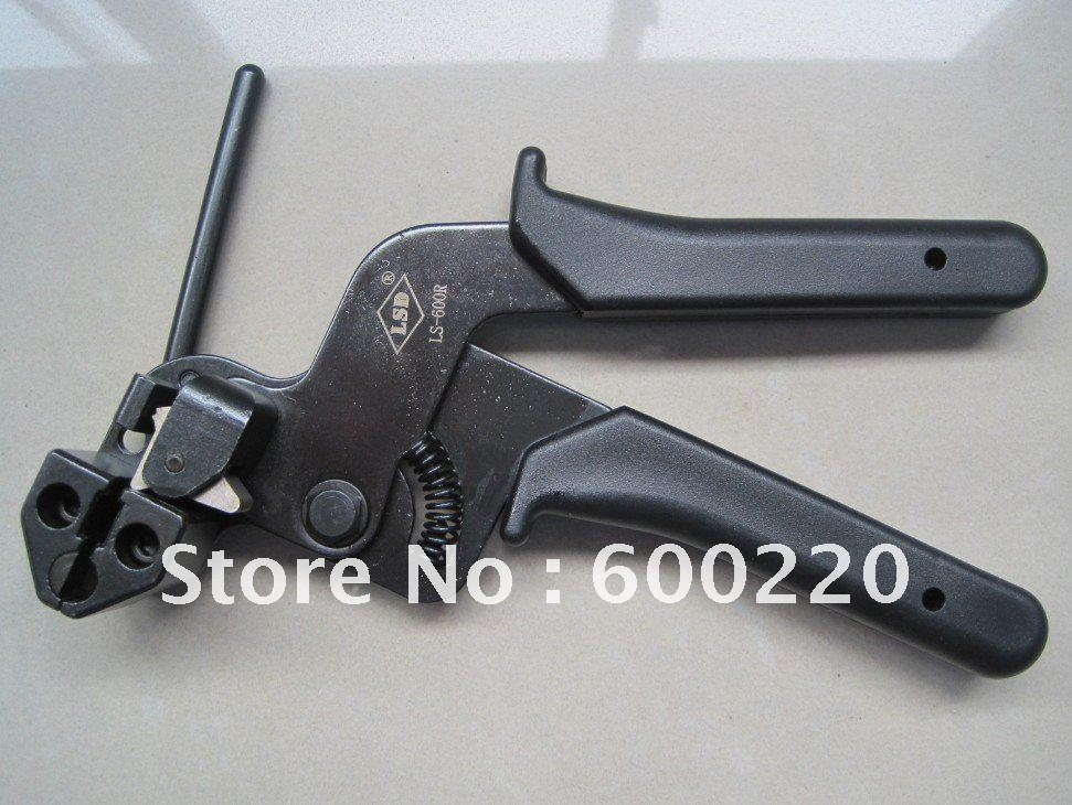 cable tie fasten tensioning tool for stainless steel LS-600R<br><br>Aliexpress