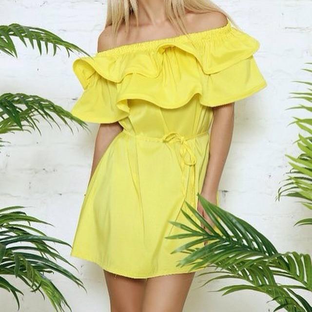 Платье свободного покроя mini лето, стиль платья женщины короткая пляж сплошной вечернее вечернее элегантный клуб леди женское пляж