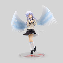 Anime Angel beats Tachibana Kanade Lovely Wing 22cm PVC Action Figure Fan Collection GSC Model Plastic Toys For Kid Gift Doll