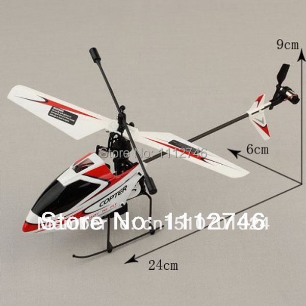Wholesale Genuine wltoys v911 V911-1 2.4G 4 channel mini RC helicopter Body (BNF)Red Color. Free shipping.(China (Mainland))