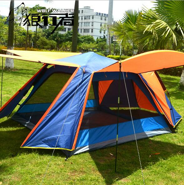 3 - 4Persons Fully-automatic Tent Automatic Camping Family Tent in Good Quality Family Travel Tent<br><br>Aliexpress
