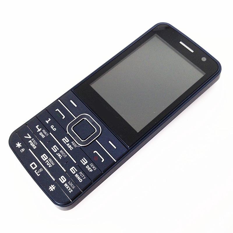 NEW 4 Sim Cards 4 Standby Mobile Phone C9 2.8'' Big Screen Outside FM Radio Quad Sim Cell Phone Russian Language/ Keyboard(China (Mainland))