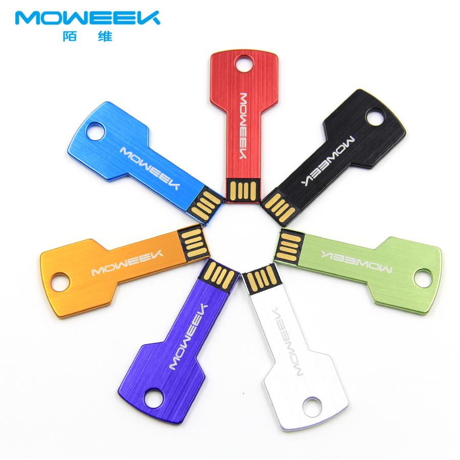 MOWEEK M05 USB flash drive 4/8/16/32/64GB Memory Stick USB Pen Drive USB 2.0 Flash Memoria gift key USB Stick(China (Mainland))