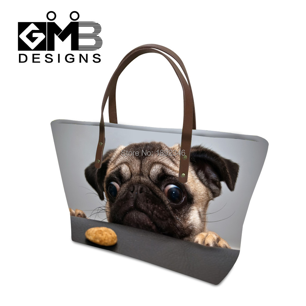 Handbag Manufacturers Dog Print Handbags for Girls Teenager Shoulder Hand Bag Classic Tote Bags for Women Messenger Bag Outdoor(China (Mainland))